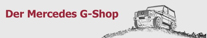 Willkommen beim G-Shop24 - Ersatzteile für die G-Klasse