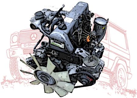Motoren und Motorteile