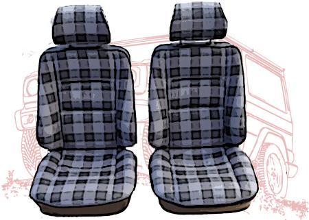 Sitze und Innenausstattungsteile