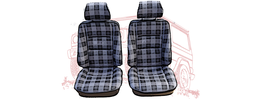 Seats and interior parts