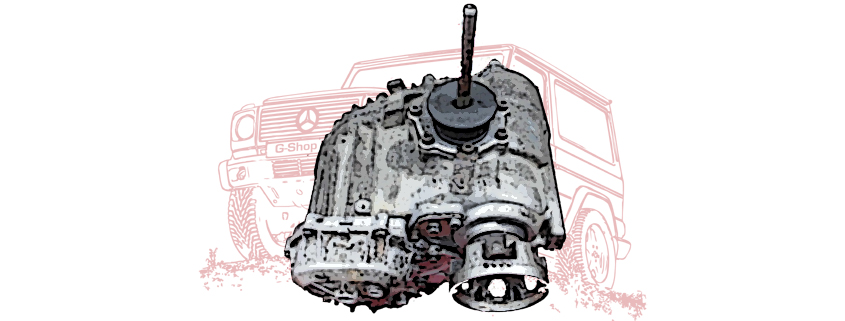 Transfer cases and spare parts